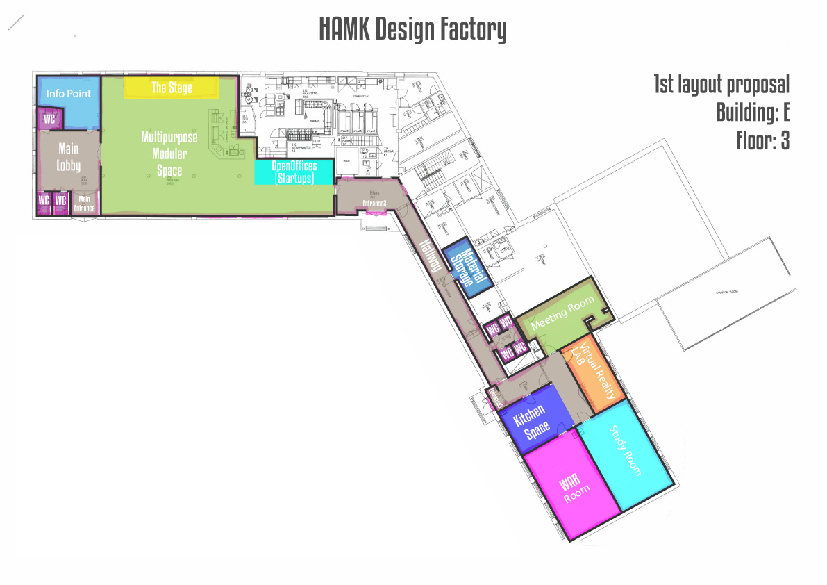 HAMK Design Factory 3rd floor