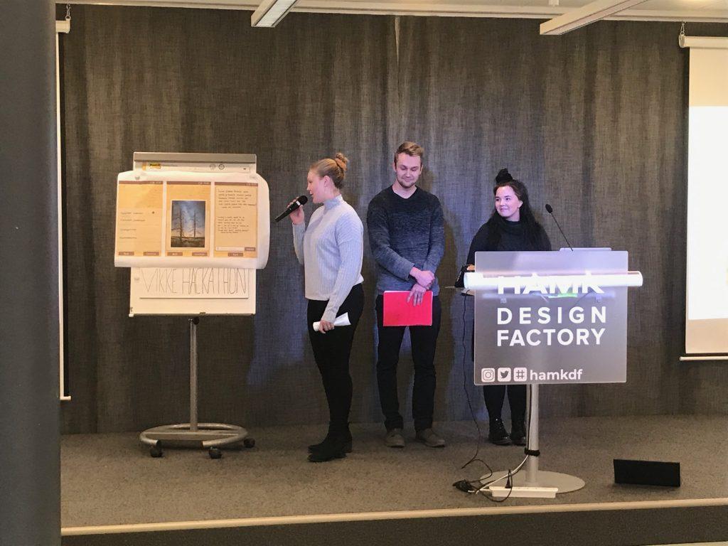 Cultural Tourism Hackaton Winners from HAMK