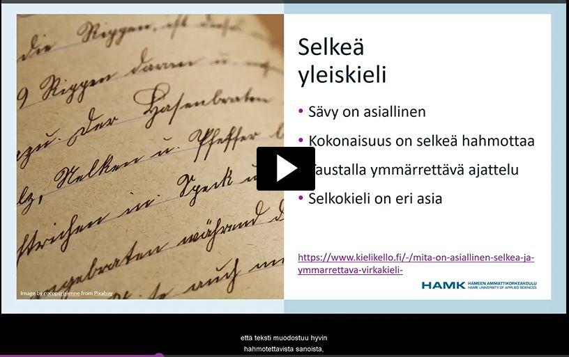 Screencast-O-Matic -tekstitys videoklipissä