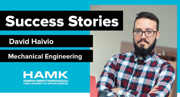 Success Stories - David Haivio, Mechanical Engineering and