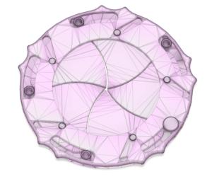 Iiris-venttiili 3D-suunnitteluna