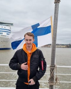 student-finnish-flag