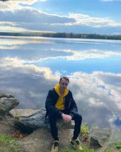 student-lake
