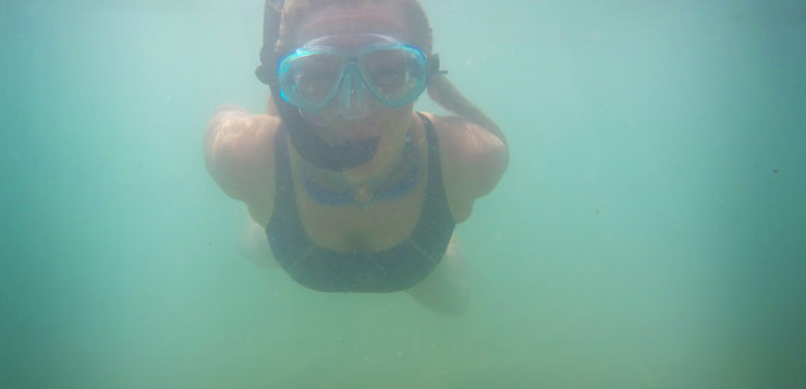woman-diving