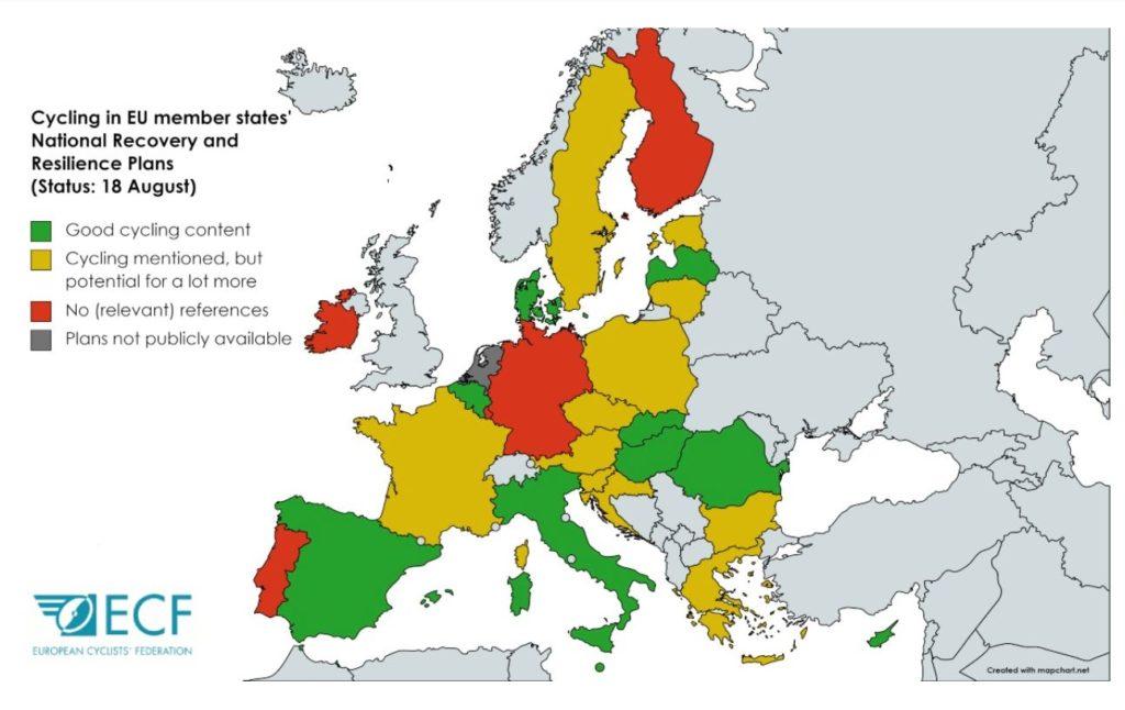 Karttakuva Euroopasta