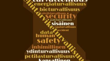 Turvallisuusaiheisten sanojen rypäs
