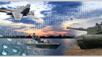 Hävittäjä, merialus ja panssarivaunu.