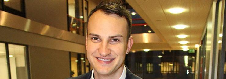 Ivo Eglitis is HAMK alumni from IB