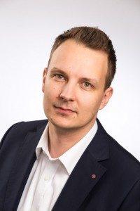 Joni Kukkamäki opiskeli tietojenkäsittelyssä