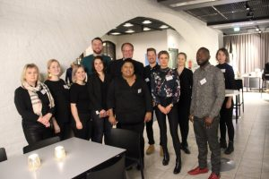 HAMK's International Business students organized a charity event in Tampere