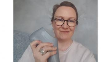 Kenkäsuunnittelija Minna Peltomäki