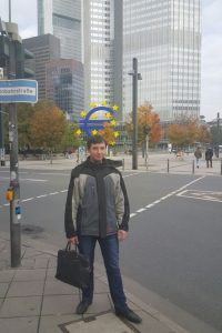 International Business alumnus Maksim in Germany