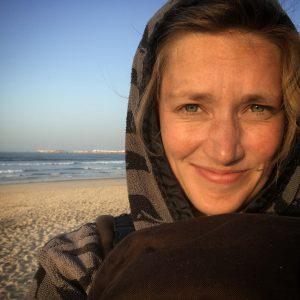 Vaatetusmuotoilun alumni Jenni Fisk