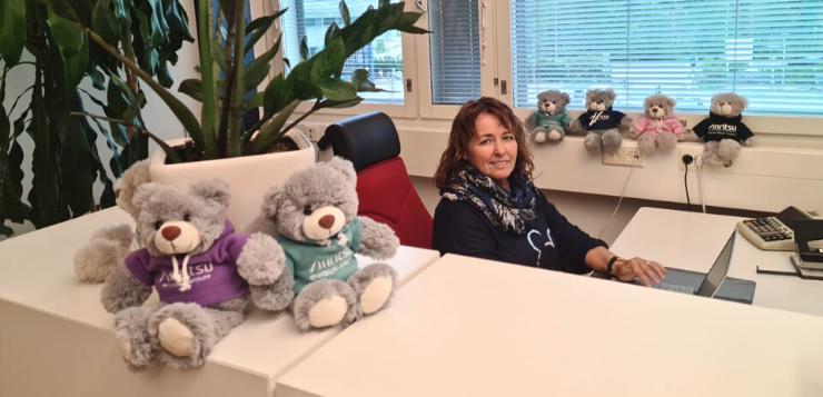Liiketalouden muuntokoulutuksessa opiskeleva Sari Näyhö