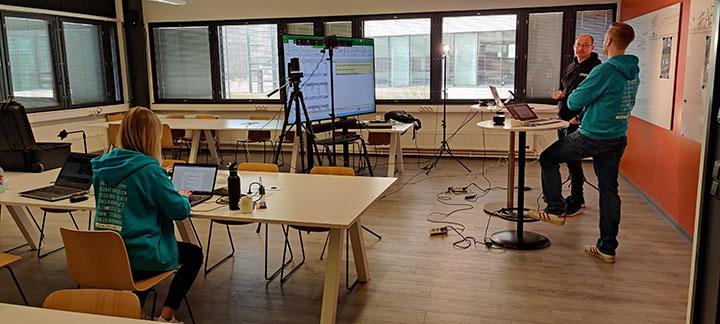 Virtuaalisen Amazing Business Trainin studio
